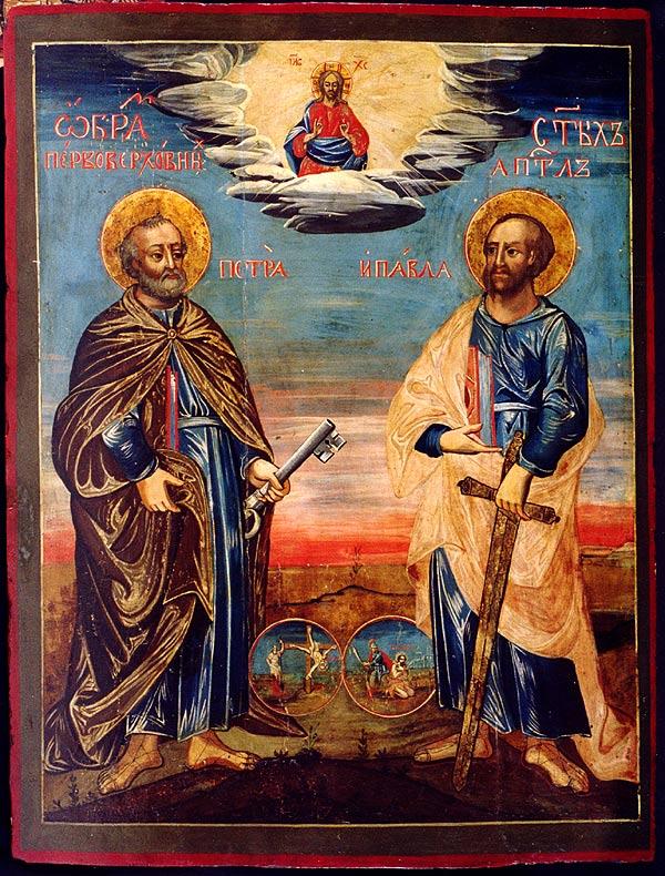 Sf. Ap. Petru și Pavel - Basilica.ro  |Sf. Petru Si Pavel