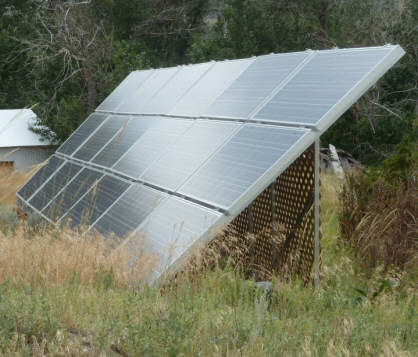 Build It Solar Blog A Nice Simple Pv Panel Ground Mount