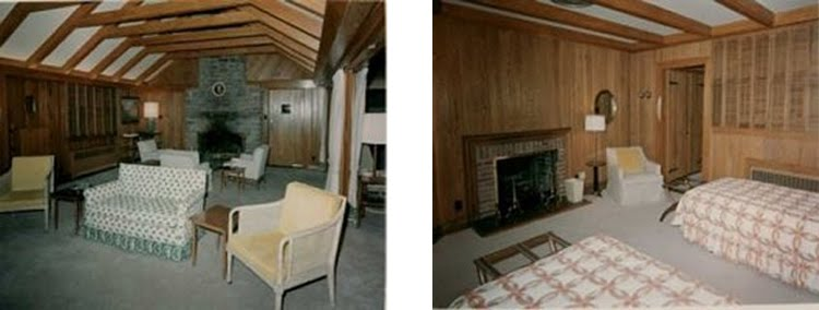 Aspen Lodge   1965   Living Room And Guest Bedroom