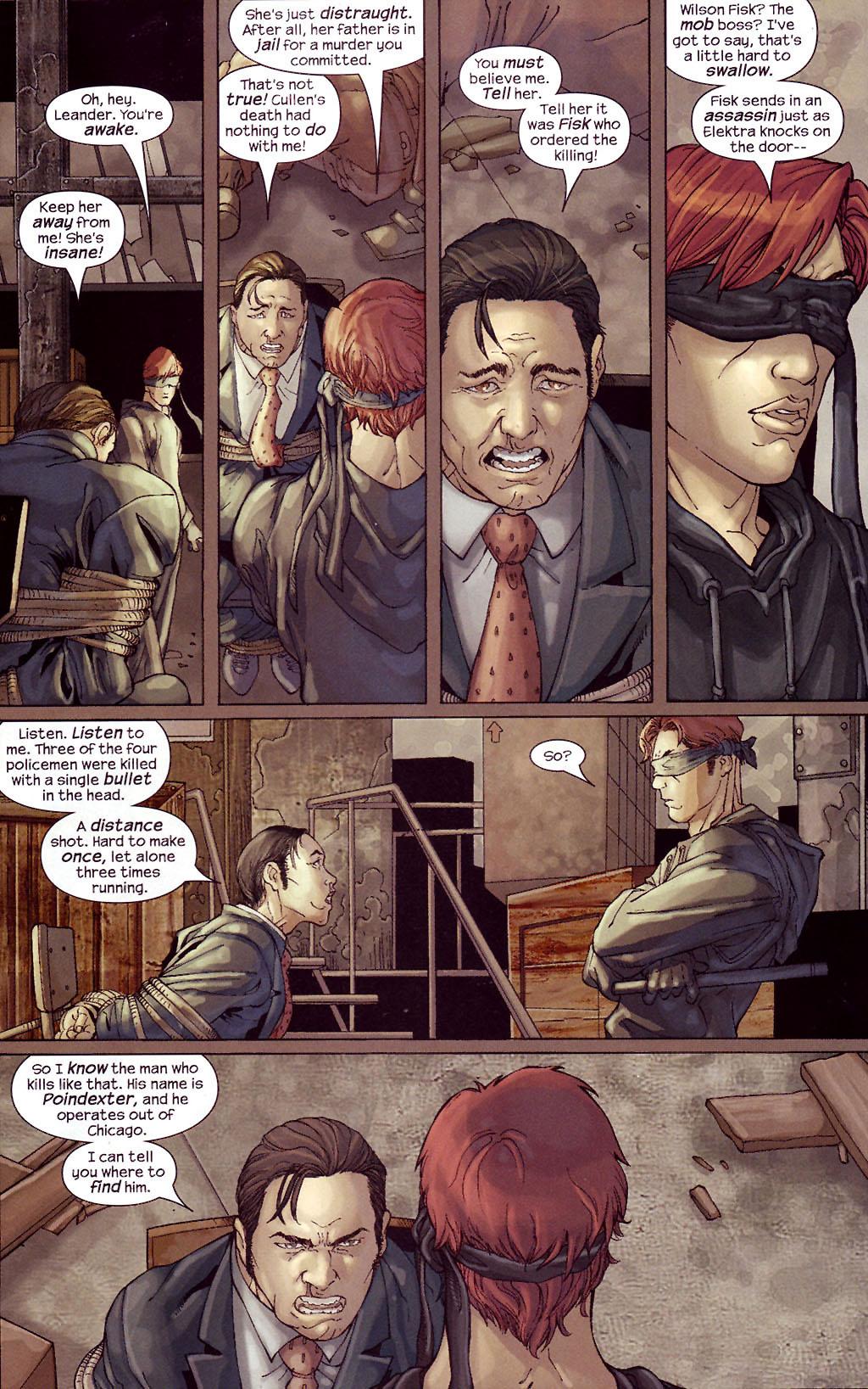 Read online Ultimate Elektra comic -  Issue #4 - 5