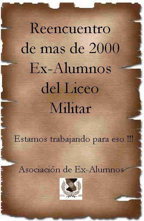 Información Ex Alumnos Liceo Militar General Artigas