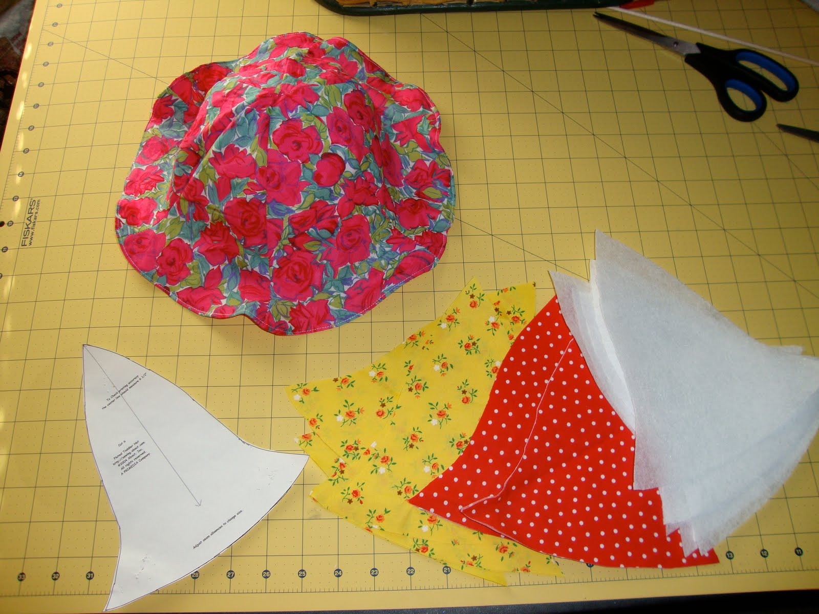 Bethany Sew-and-Sew  Simple Toddler Sun Hat Tutorial (only 6 steps!) 243153ba668