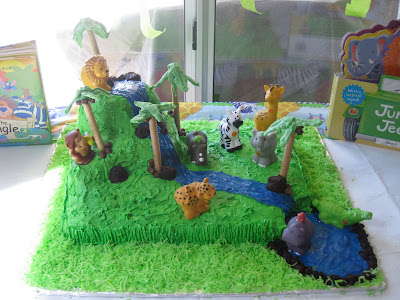 Edible Jungle Cake Toppers