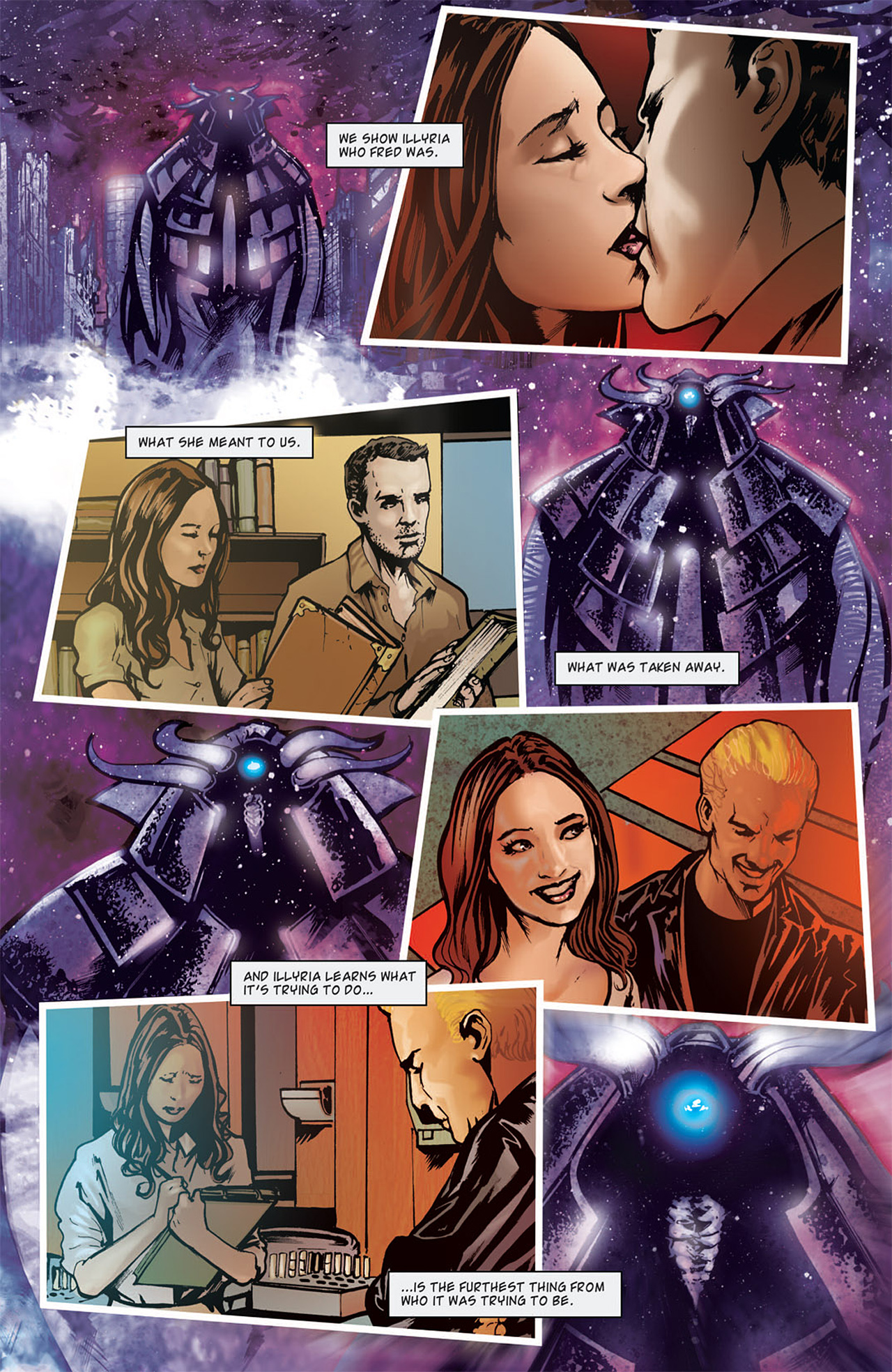 Read online Angel: After The Fall comic -  Issue #15 - 22