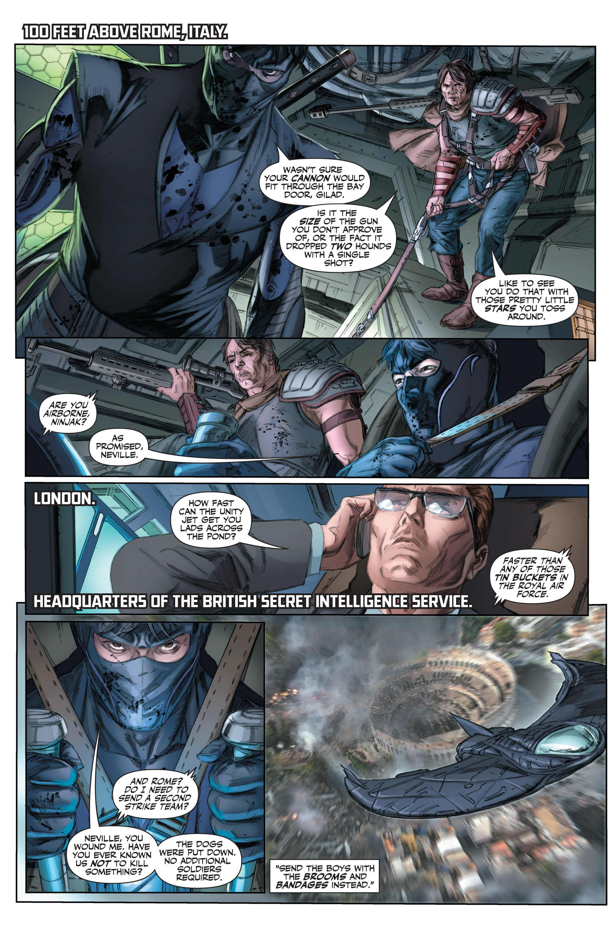 Read online Armor Hunters comic -  Issue #3 - 9