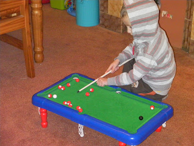 kids snooker game plastic for xmas present