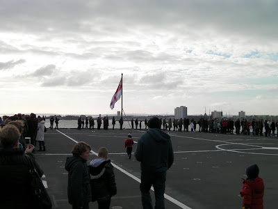 aircraft carrier flight deck