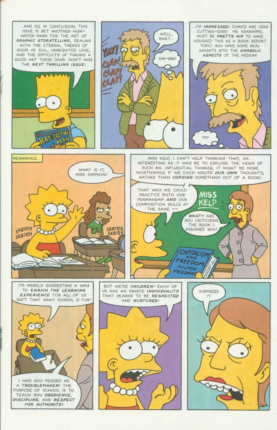 Read online Simpsons Comics comic -  Issue #4 - 18