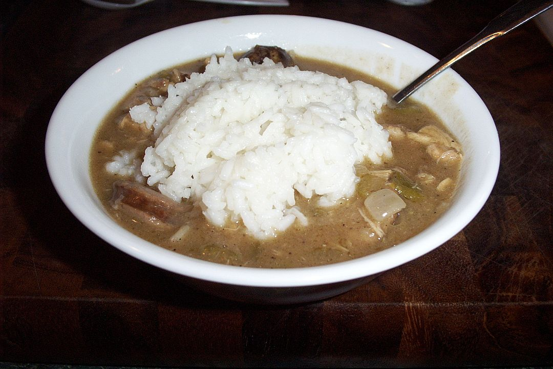 Whyldfire Bar B Que Smoked Chicken Amp Sausage Gumbo