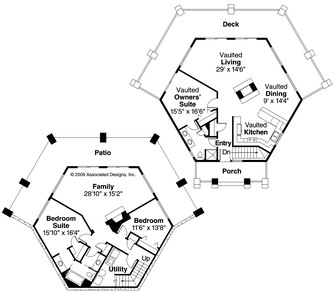 living in the garage furthermore gothic revival house floor plans furthermore octagon house moreover  further cool homes world. on octagon house plans