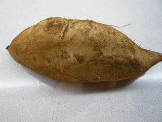 Cuocere la patata americana