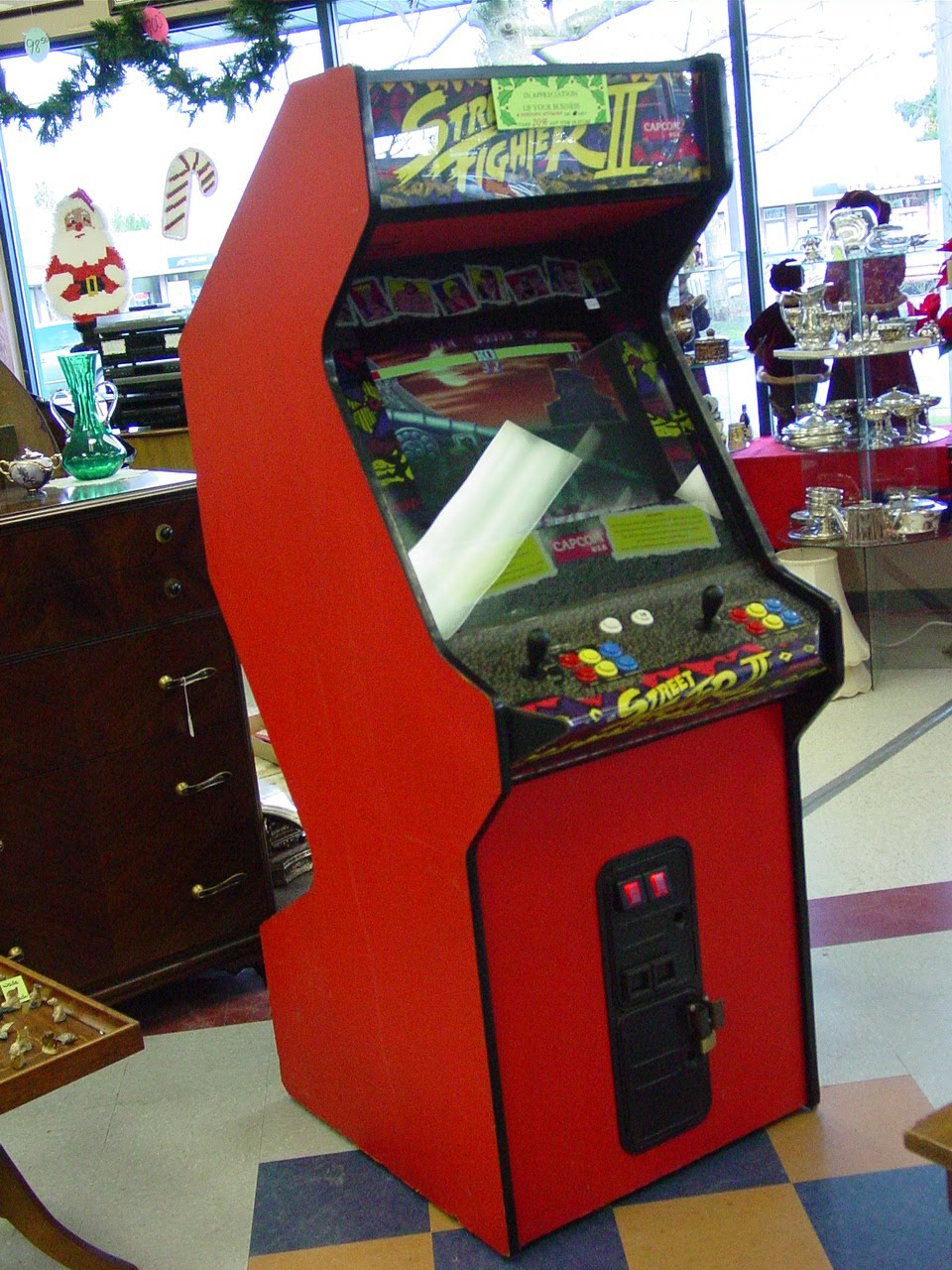 Fine Point Antiques Amp Collectibles Street Fighter Ii