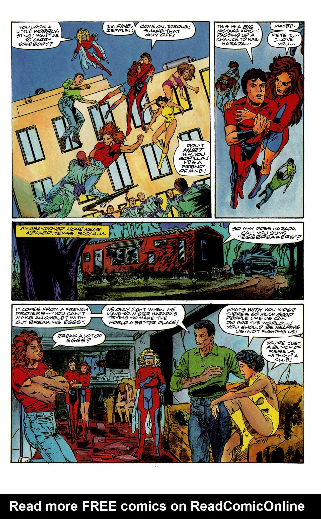 Read online Harbinger (1992) comic -  Issue #6 - 9