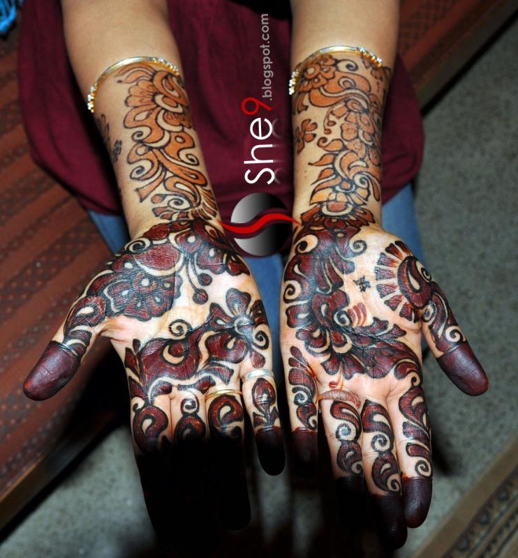 Luther Vandross Arabic Mehndi Designs