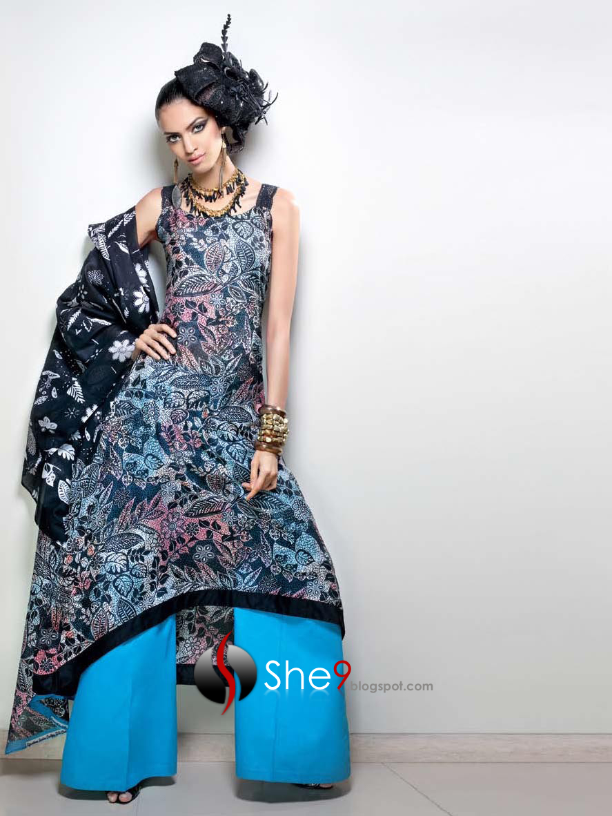 Latest Design Of Assam Type House: New Asian Dresses 2010 - 11