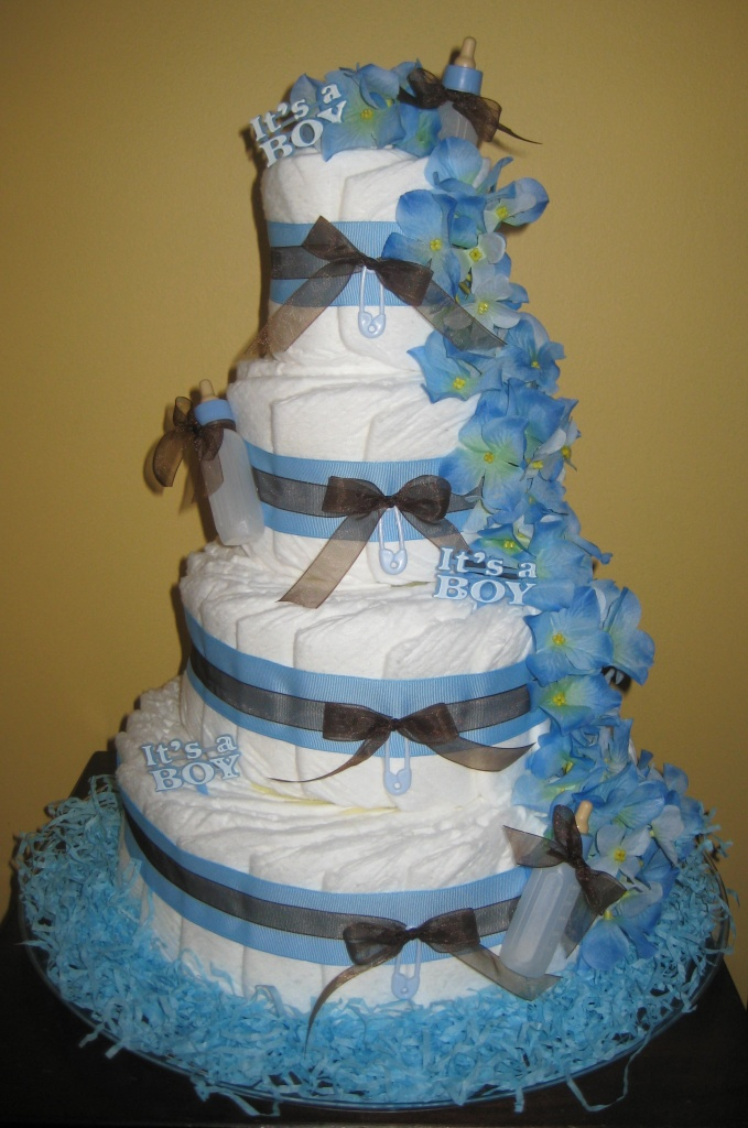 Diaper Cakes With Real Diapers Thenest