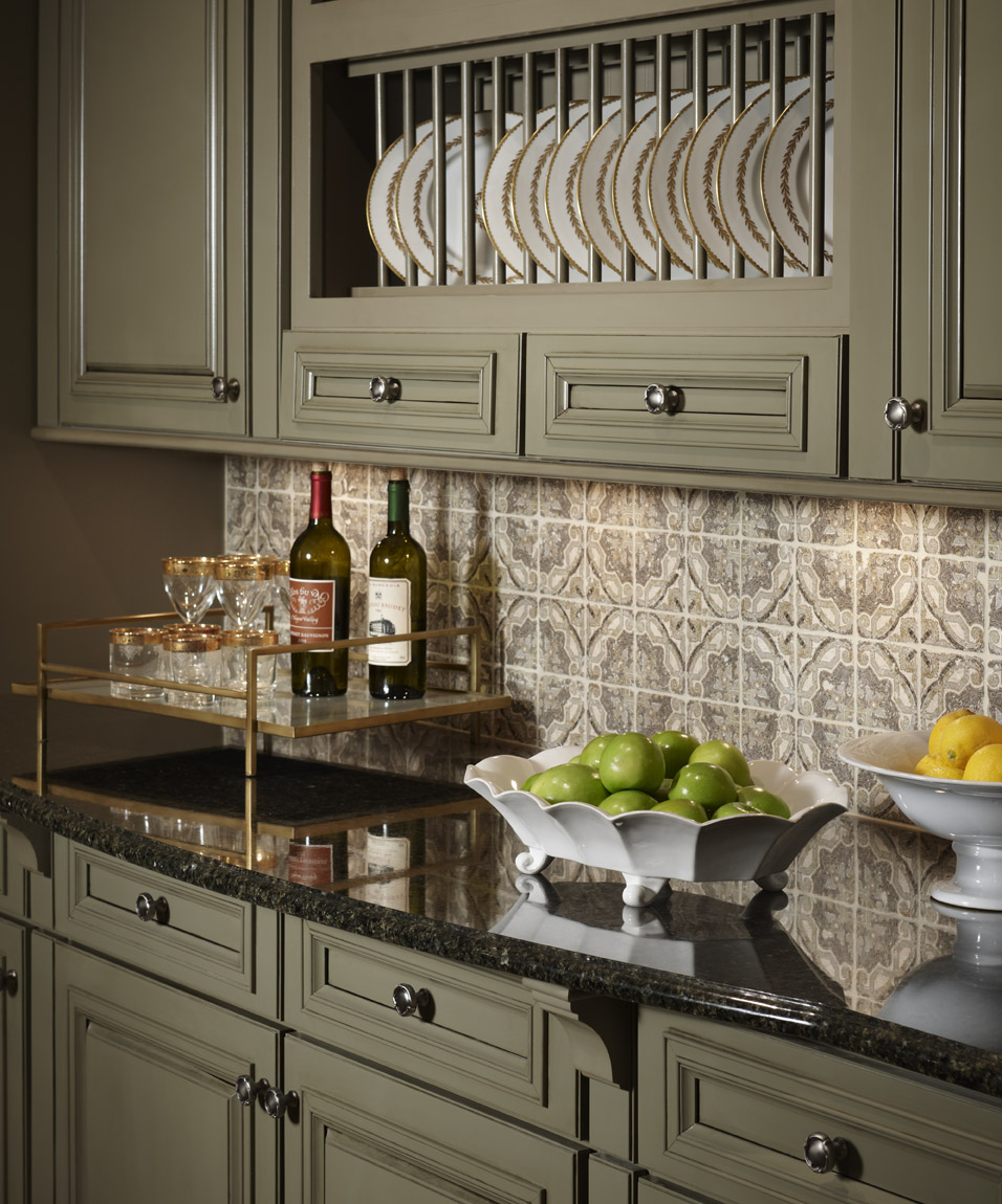 Kitchen Colors With Dark Cabinets: StoneImpressions Blog: Sage Green Inspiration From