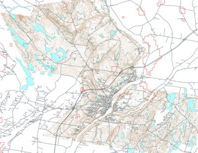 Maine Map Towns.Sustainability Thought And Deed Gis Wind Maps For Maine Towns