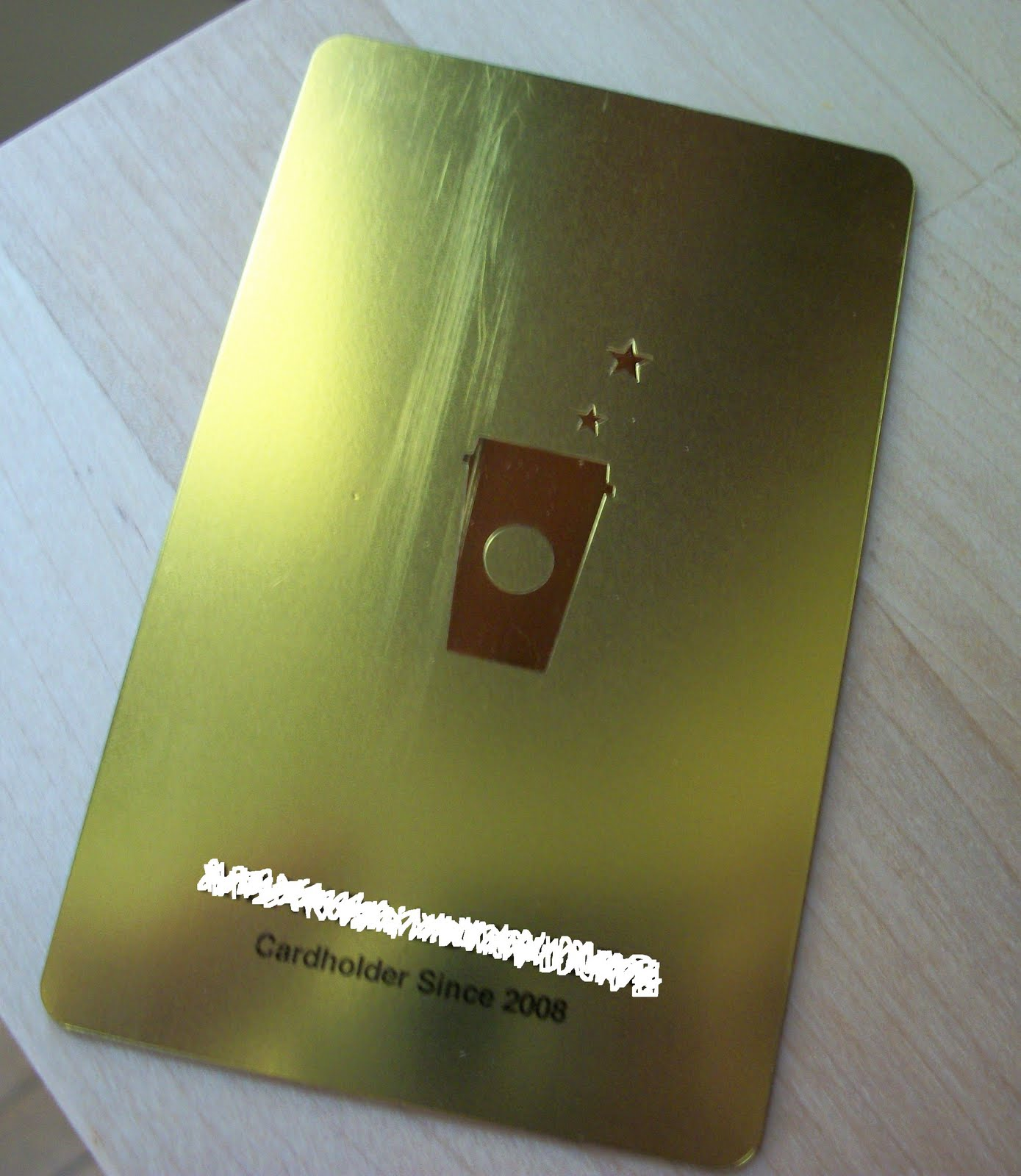 Running On Coffee: Starbucks Rewards