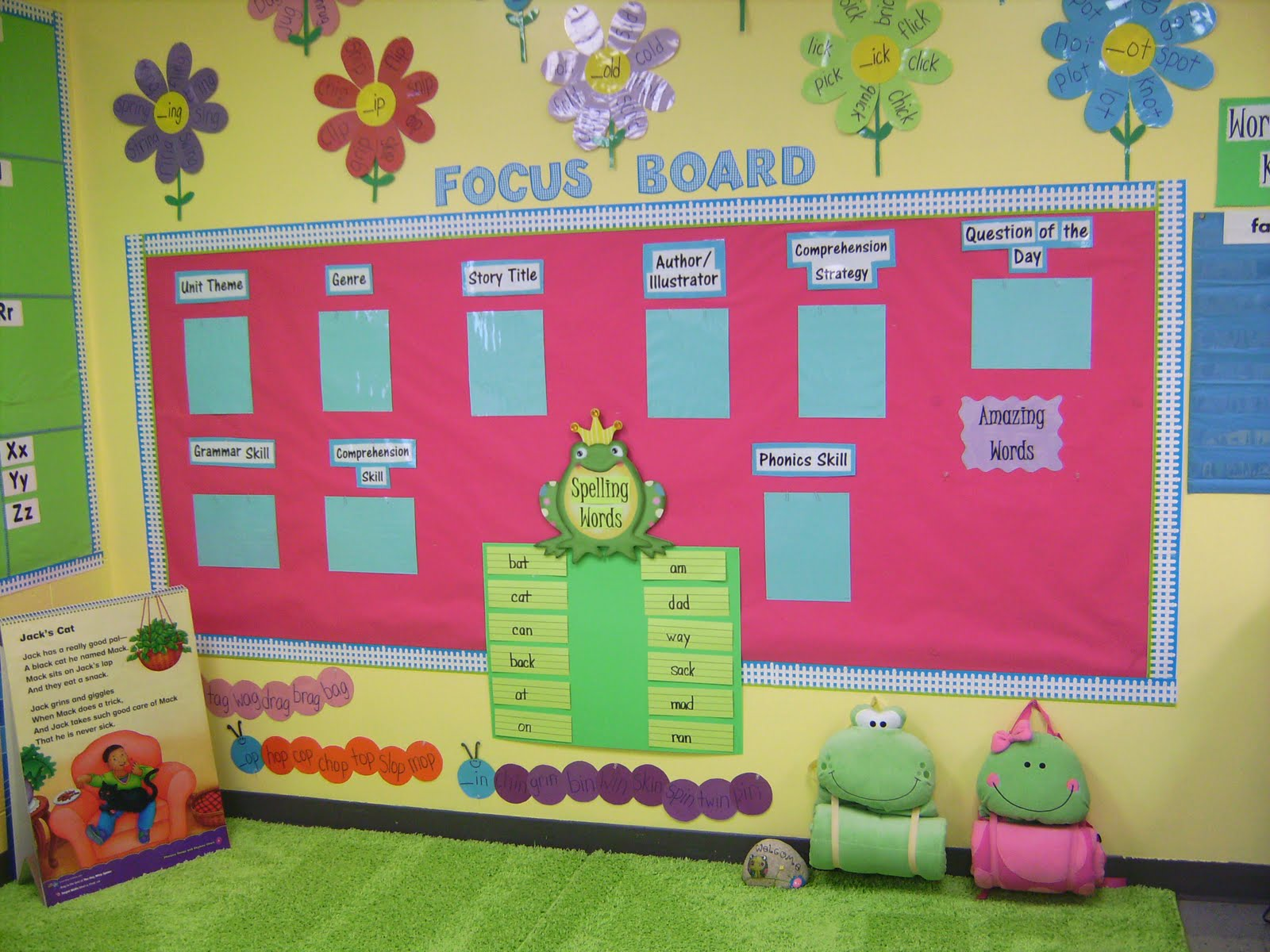 Life In First Grade Focus Board