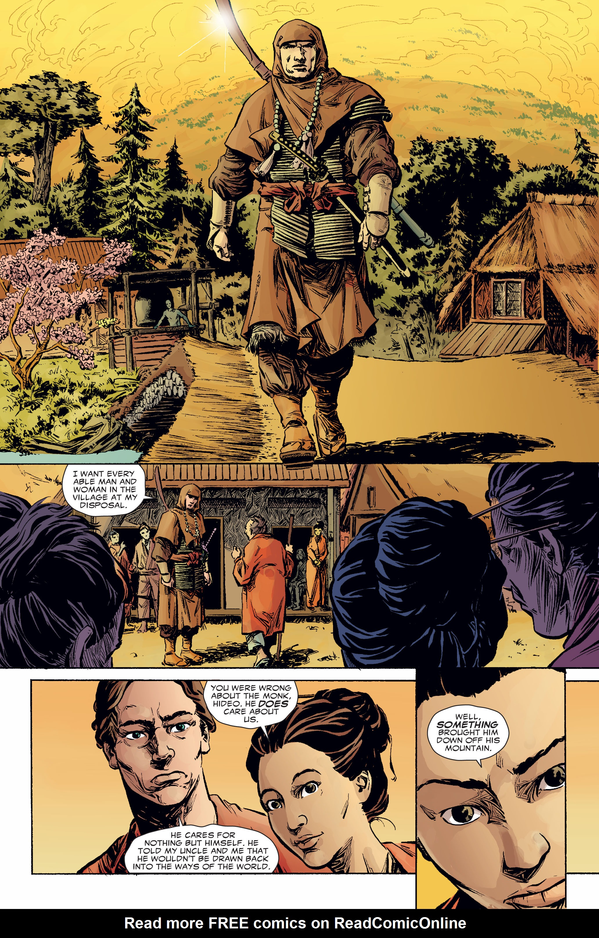 Read online 5 Ronin (2011) comic -  Issue #2 - 13