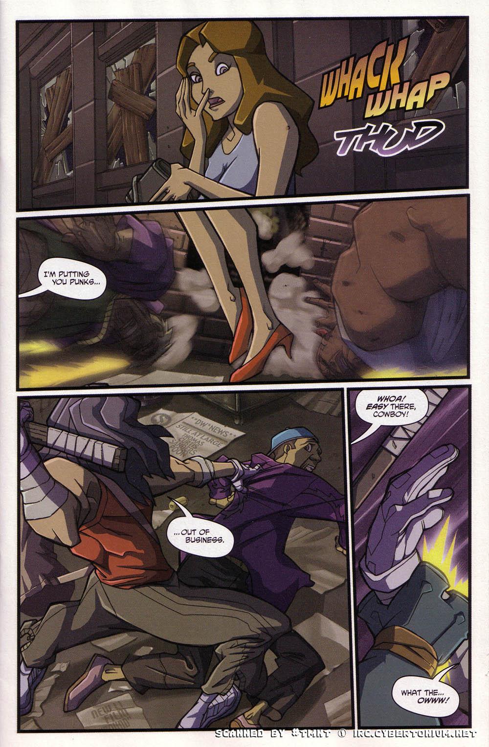 Teenage Mutant Ninja Turtles (2003) issue 4 - Page 9