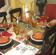 Time Fall Tablescape - Style Sisters