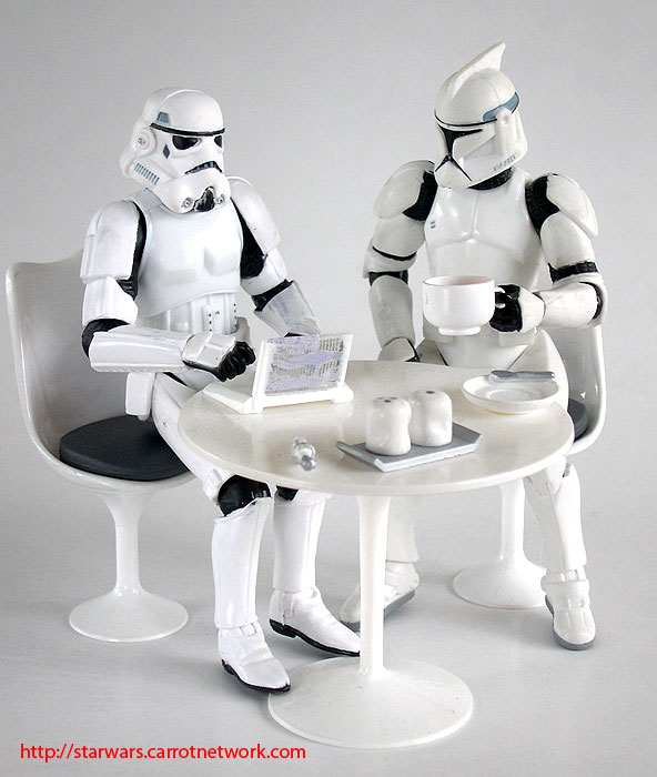 Clone Troopers Vs Stormtroopers