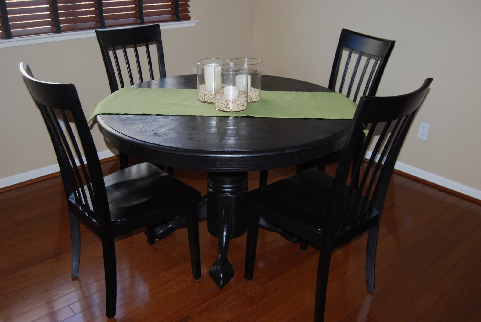 Dusting Off The Mantel Pottery Barn Inspired Pedestal Table