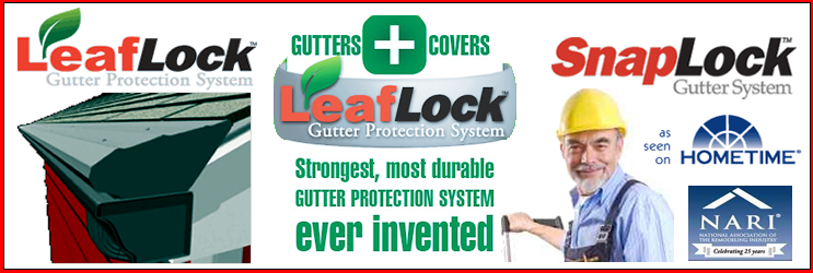 Quot Gutter Protection Quot Leaflock Gutter Protection System