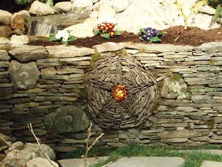 materiale zid de sprijin, gradina naturala, rustica, piatra naturala, idei, sfaturi