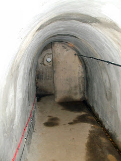 A rendered stretch of the tunnel