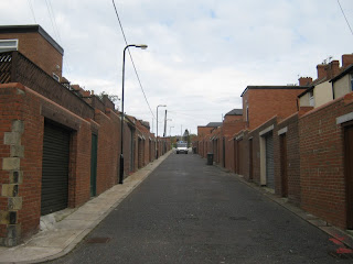 Back lane of Parmontley Street and Shafto Street