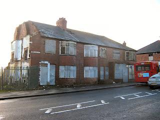 Derelict Old Benwell, Newcastle upon Tyne. january 2011
