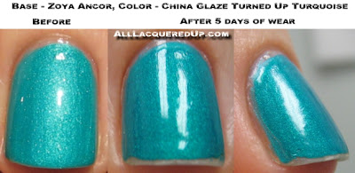 seche vite top coat wear test and review all lacquered up