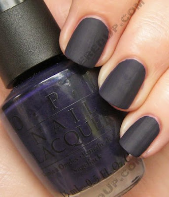 OPI Matte Nail Polish Swatches and Review : All Lacquered Up