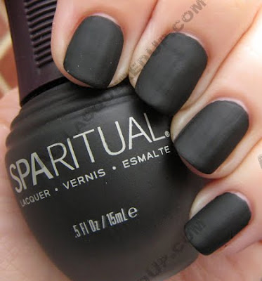SpaRitual Matte Nail Polish Swatches & Review : All ...