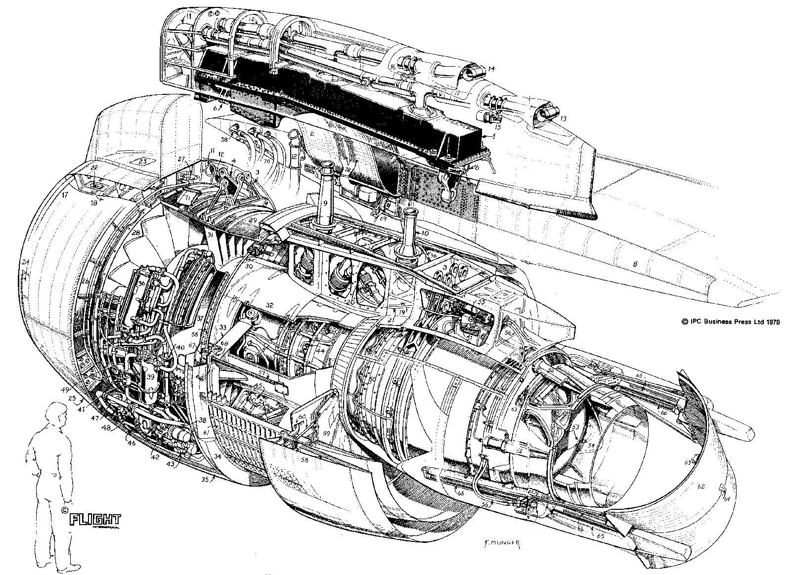 Engineering Graphic Drawing Airbus A320