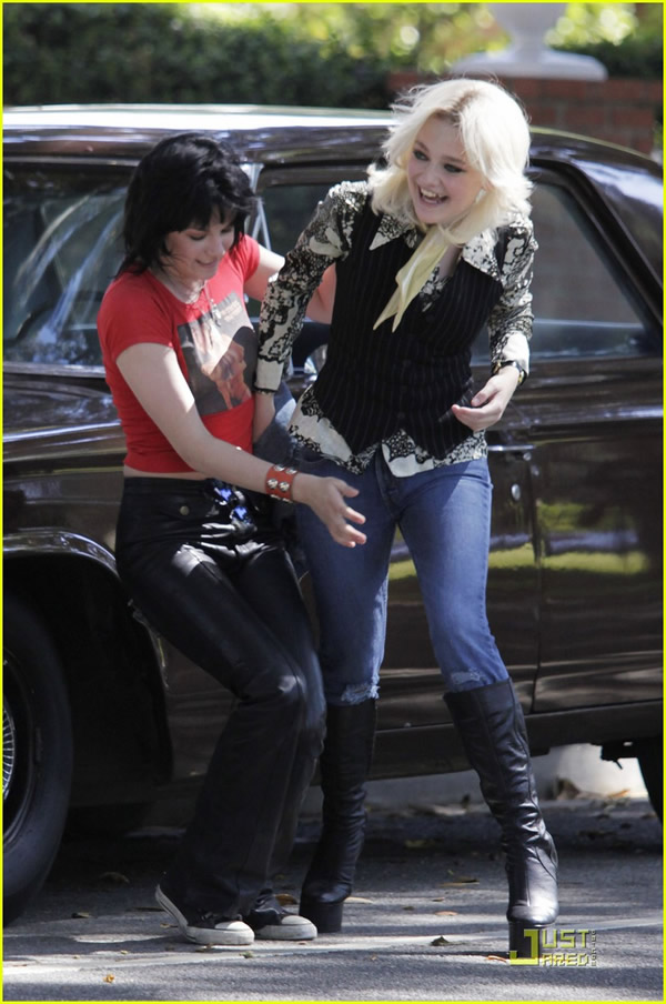 Pity, that Kristen stewart joan jett and cherie currie like this