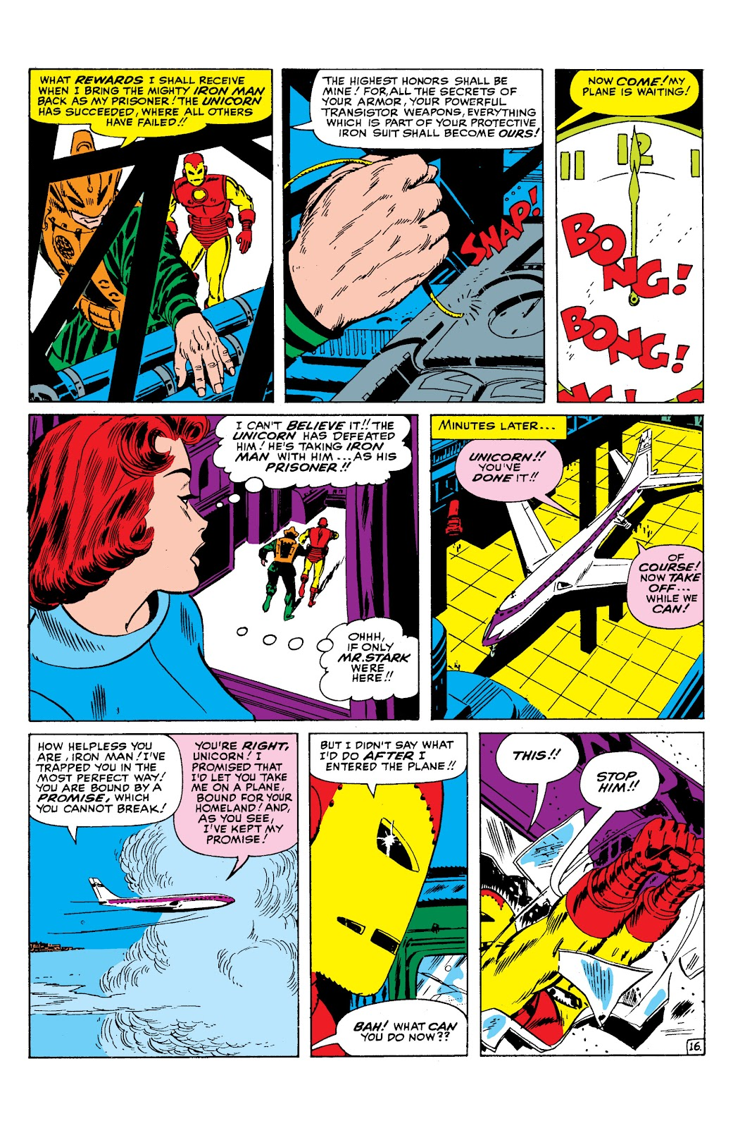 Read online Marvel Masterworks: The Invincible Iron Man comic -  Issue # TPB 2 (Part 1) - 97
