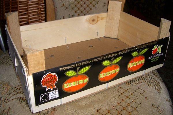 kleeblatt 39 s bastelseiten recycling pr sentkorb. Black Bedroom Furniture Sets. Home Design Ideas