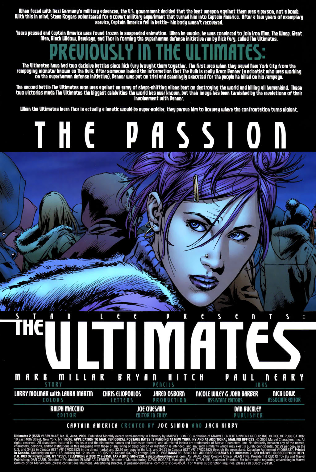 Read online Ultimates 2 comic -  Issue #5 - 2