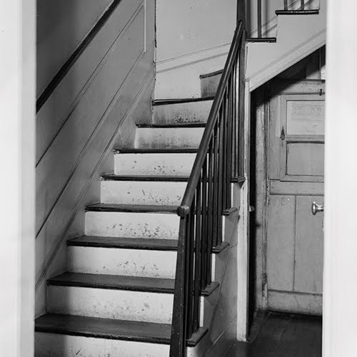 A House With Two Sets Of Stairs