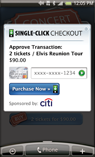 Single-Click Checkout