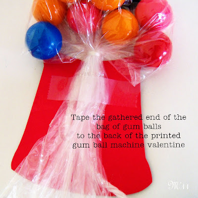 living with ThreeMoonBabies | gumball machine valentines