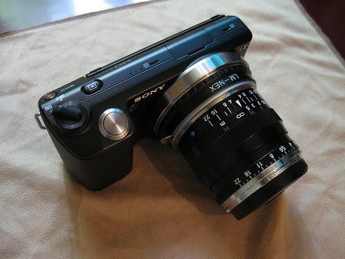 Sony NEX-5 Zeiss ZM 35mm Biogon Lens