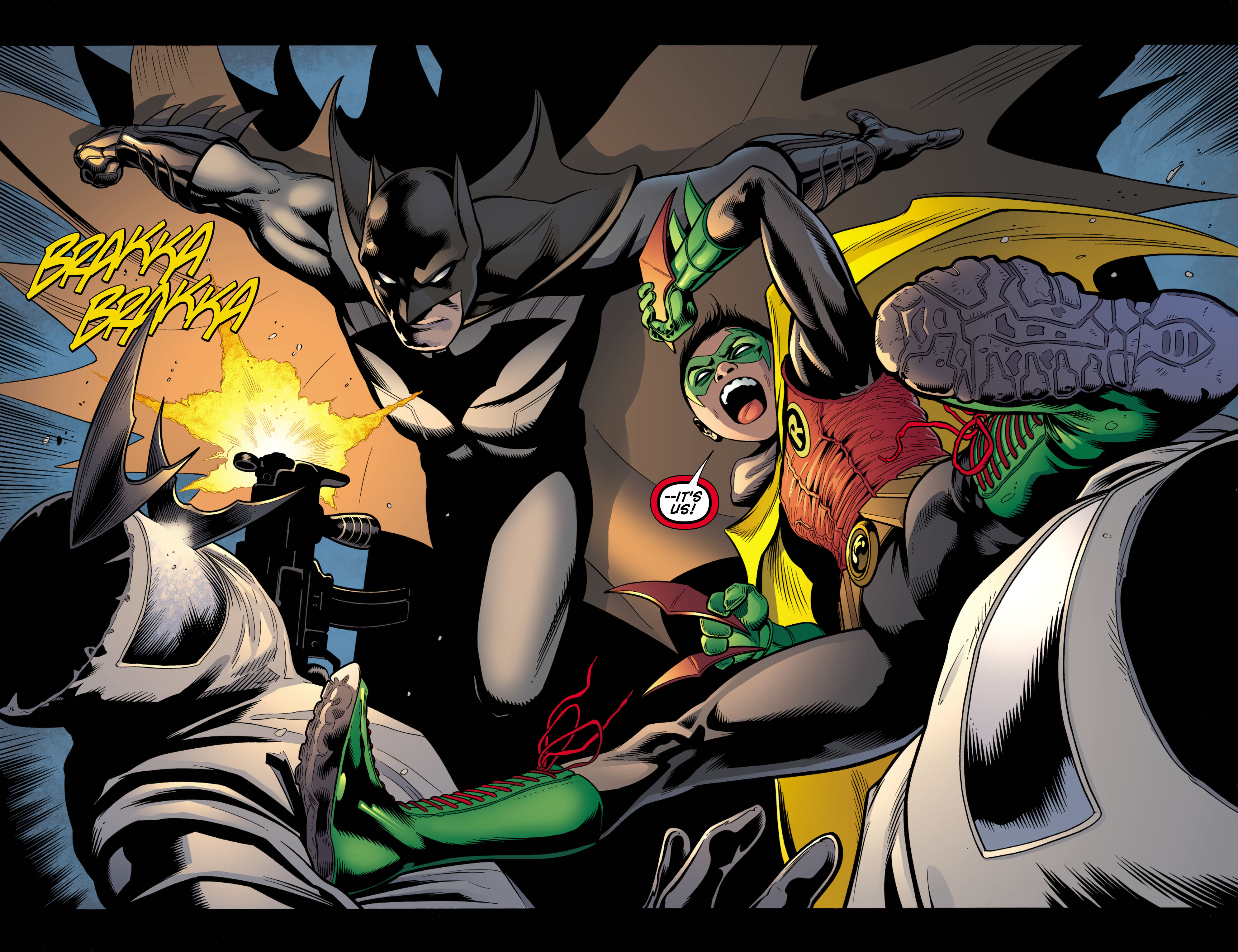Read online Batman and Robin (2011) comic -  Issue # TPB 1 - 18