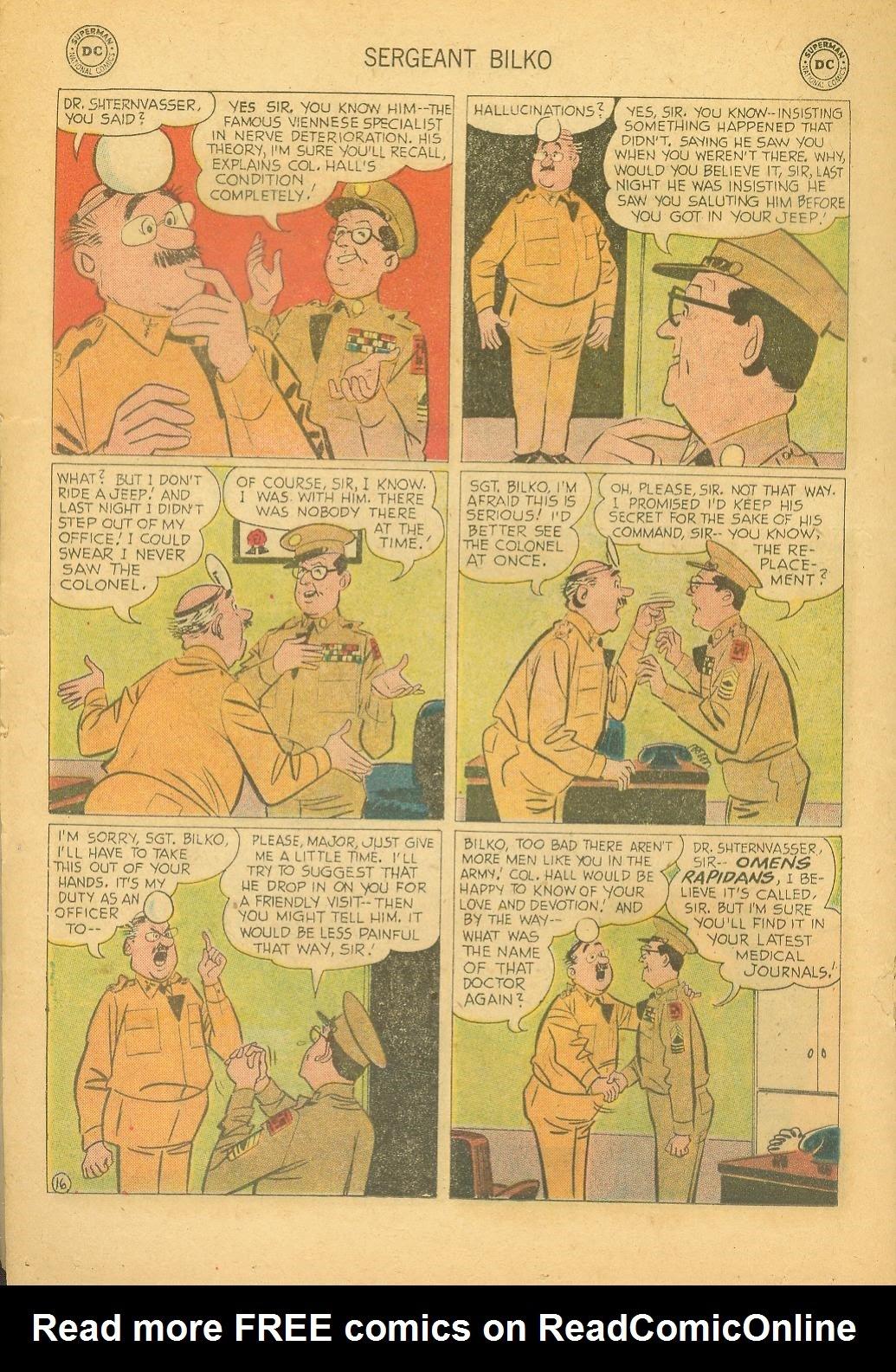 Sergeant Bilko issue 8 - Page 20