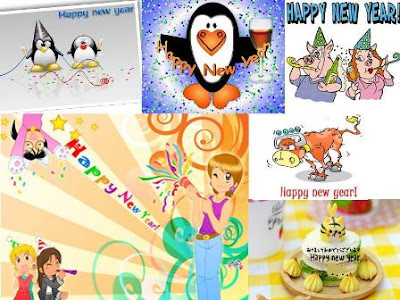 New Year 2010 Greeting Cards