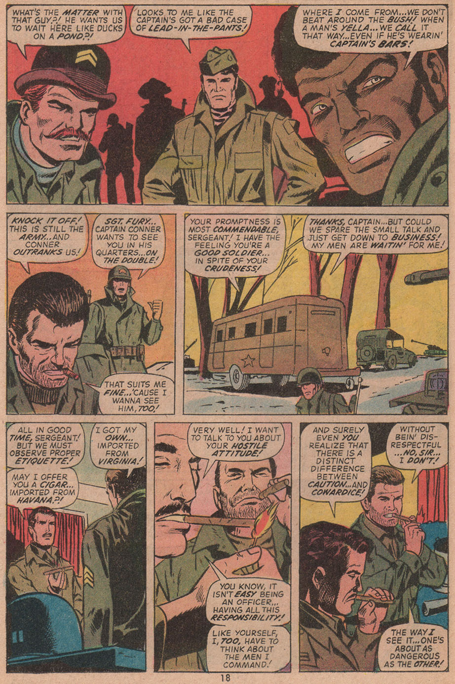 Read online Sgt. Fury comic -  Issue #104 - 20